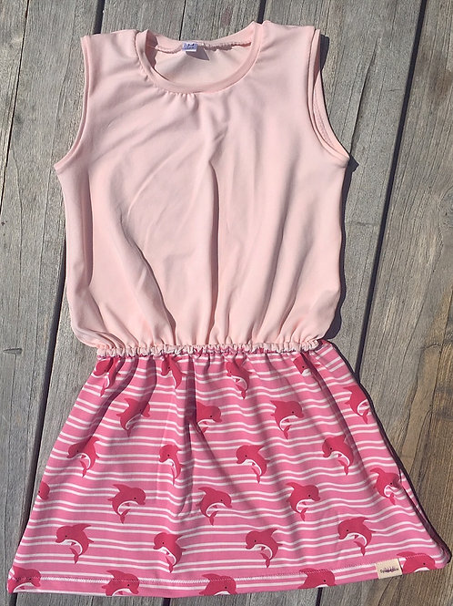 Pink Dolphin Block Dress