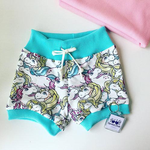 Unicorn Ponies Lounge Shorts