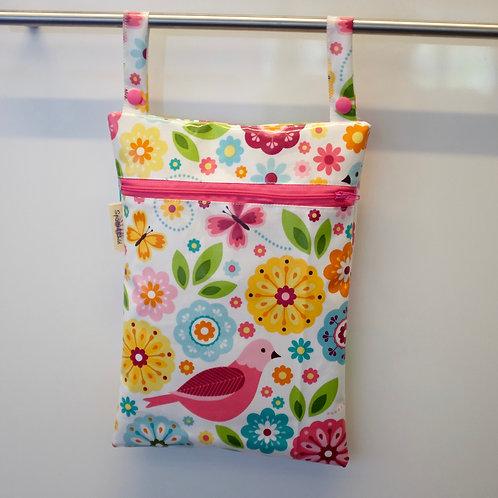 Birds and Butterflies Wet bag - Leakproof