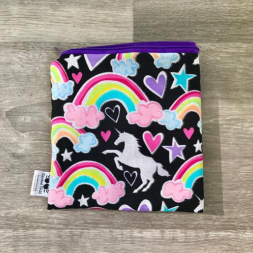Rainbows & Unicorns snack bag