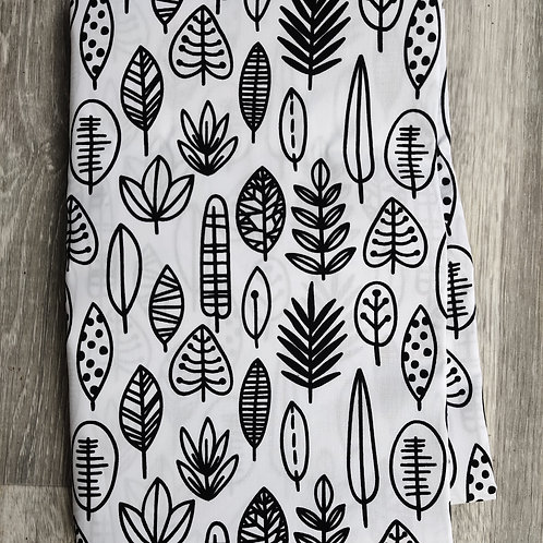 Monochrome Forest Reusable Face Covering