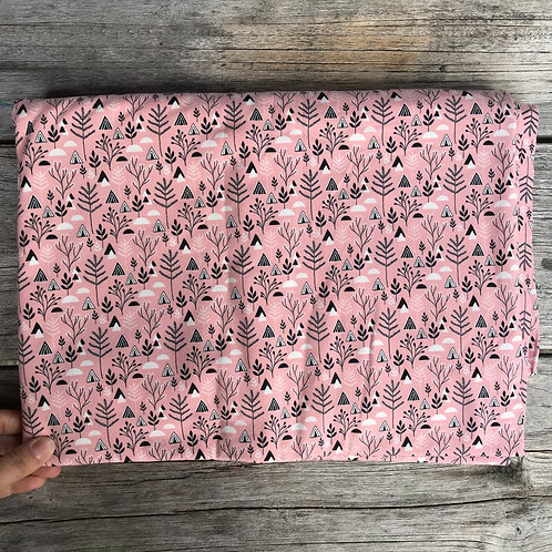 Scandi Forest Flowers - Rose Pink
