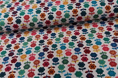 Rainbow Flowers Pocket Lounge Shorts