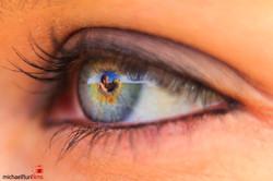 Augen in der Grossstadt: Lebensglück