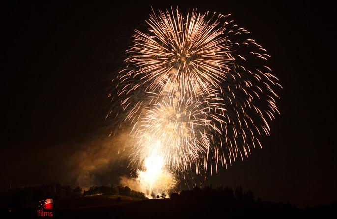 Feuerwerk Gurten 2015