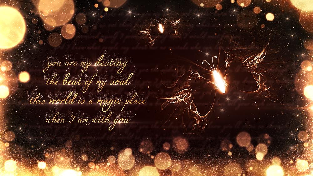 Artwork: You Are My Destiny