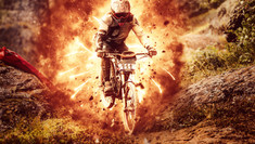 Explosion Photoshop Action: Downhill (Part I)