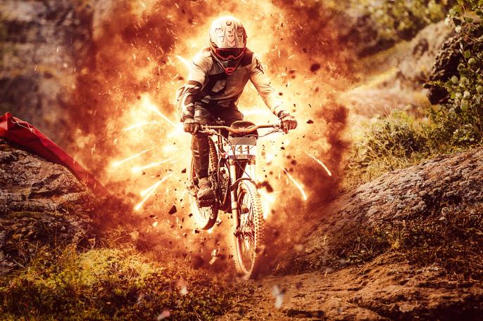 Explosion Photoshop Action: Downhill (Part I)