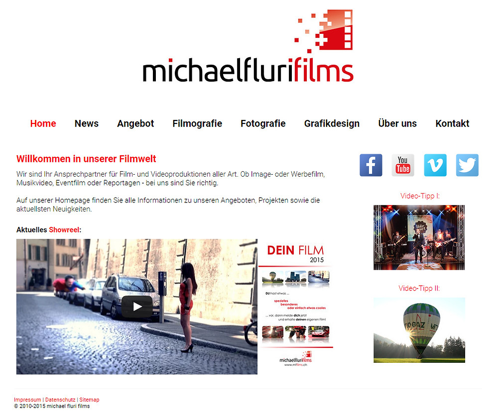 Homepage: ReDesign