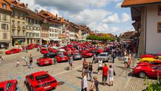 Ferrari Treffen Aarberg 2017: Videoaufnahmen