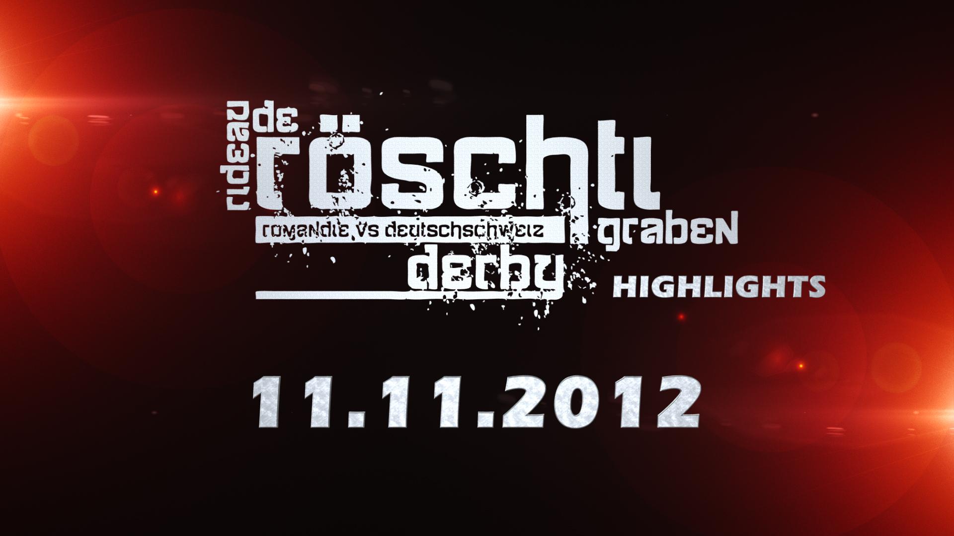 Röschtigrabe Derby 2012 (Teaser)