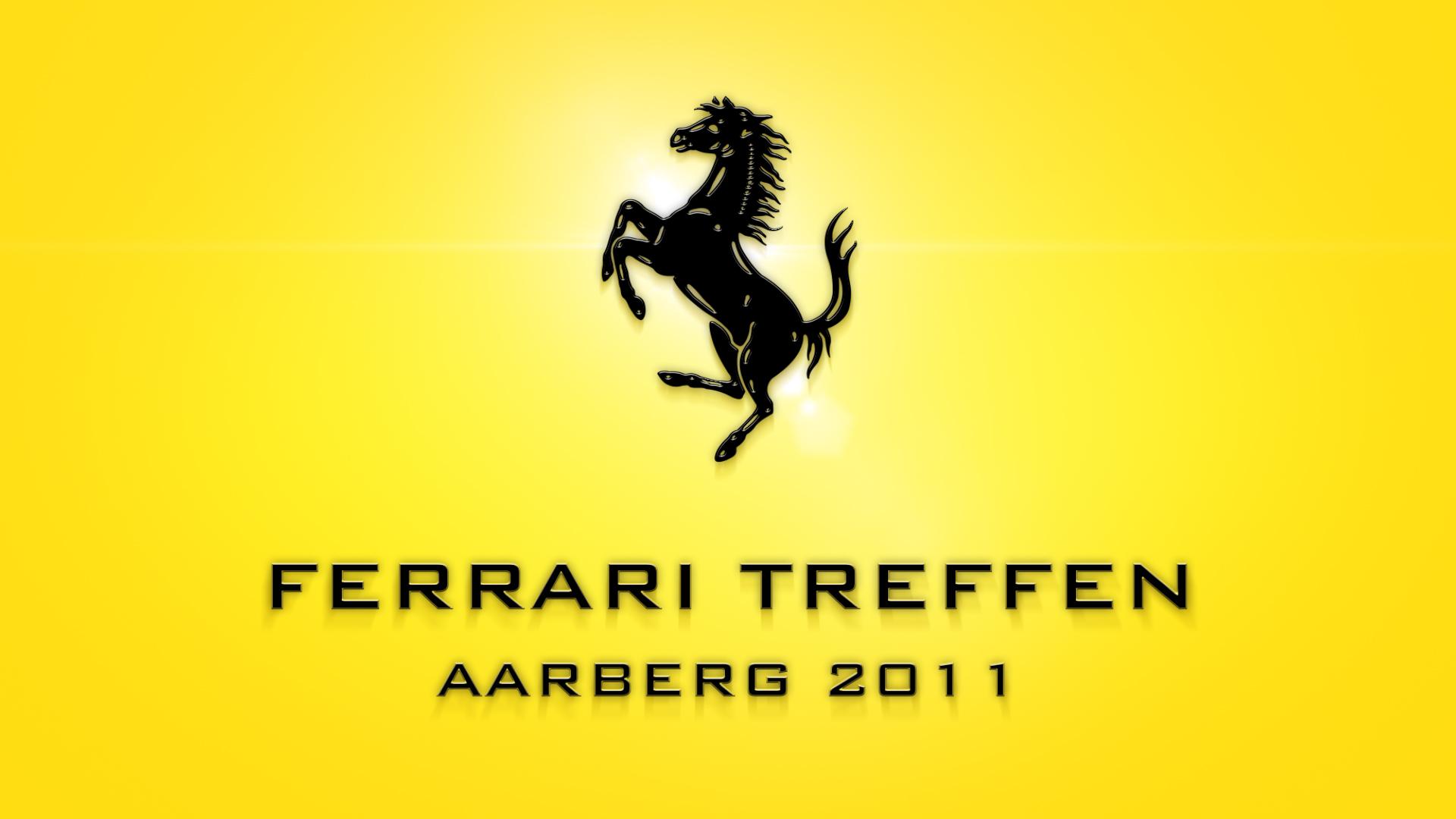Ferrari Treffen Aarberg 2011