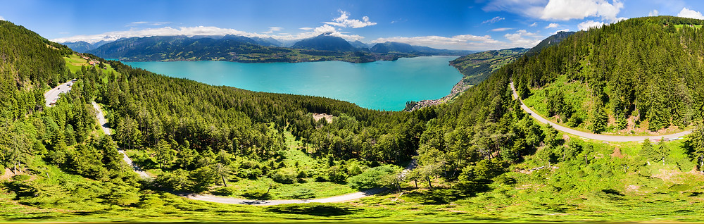 360°-Panorama Thunsersee