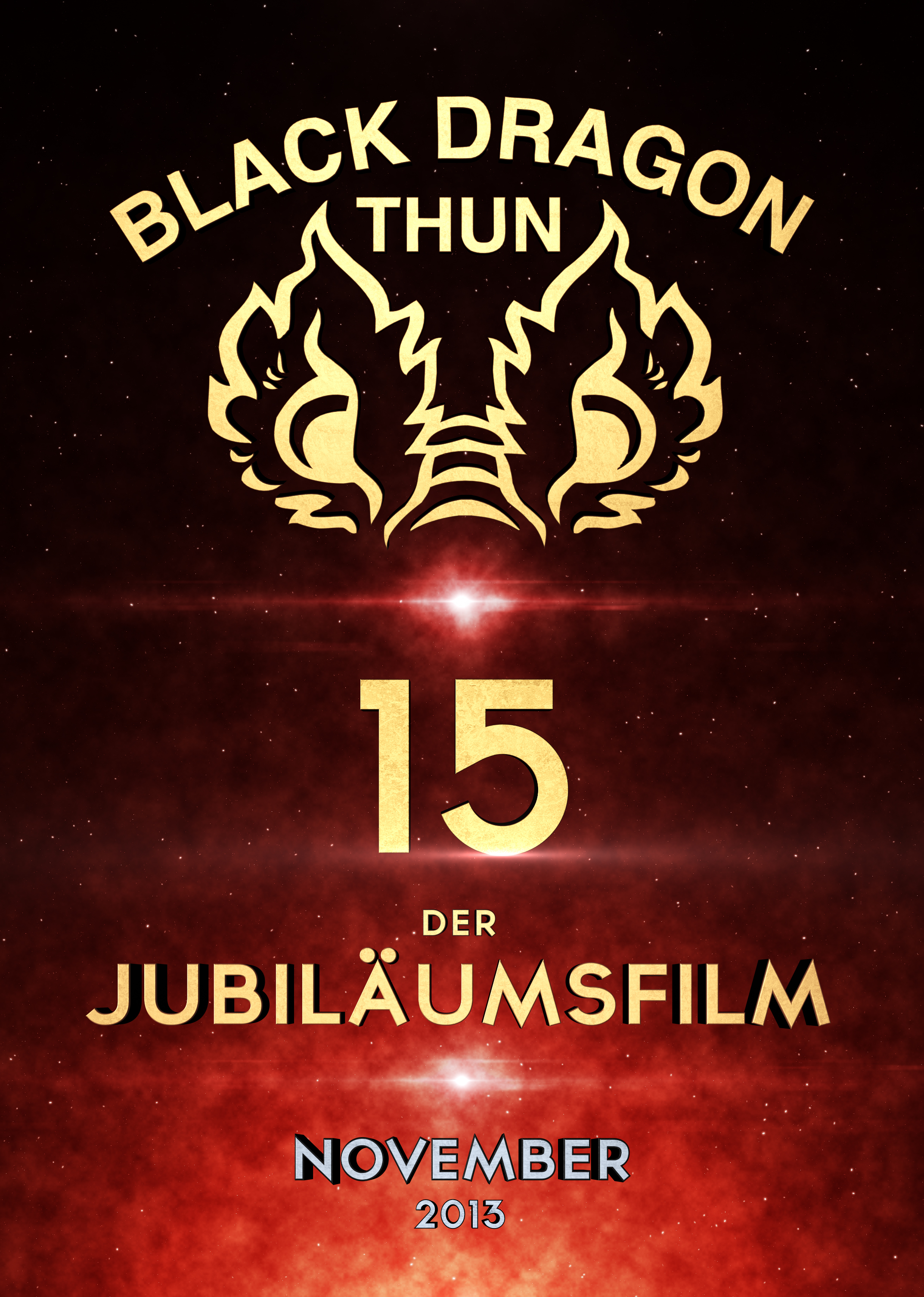 Black Dragon Thun - Teaser Poster