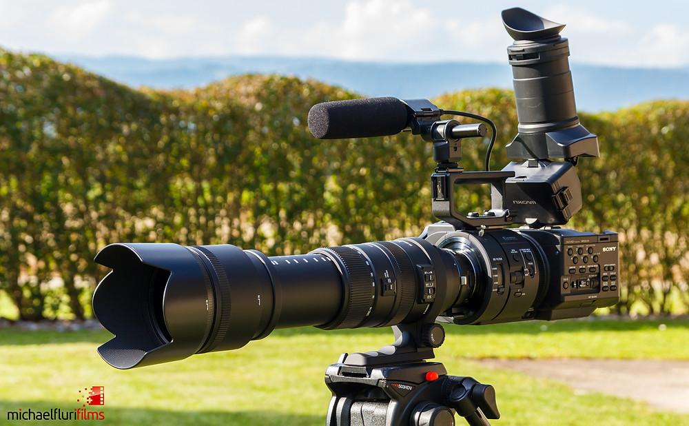 Sony NEX-FS700 & Sigma 50-500mm