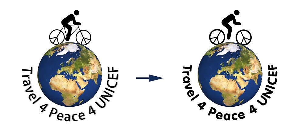 Logovergleich: Travel4Peace