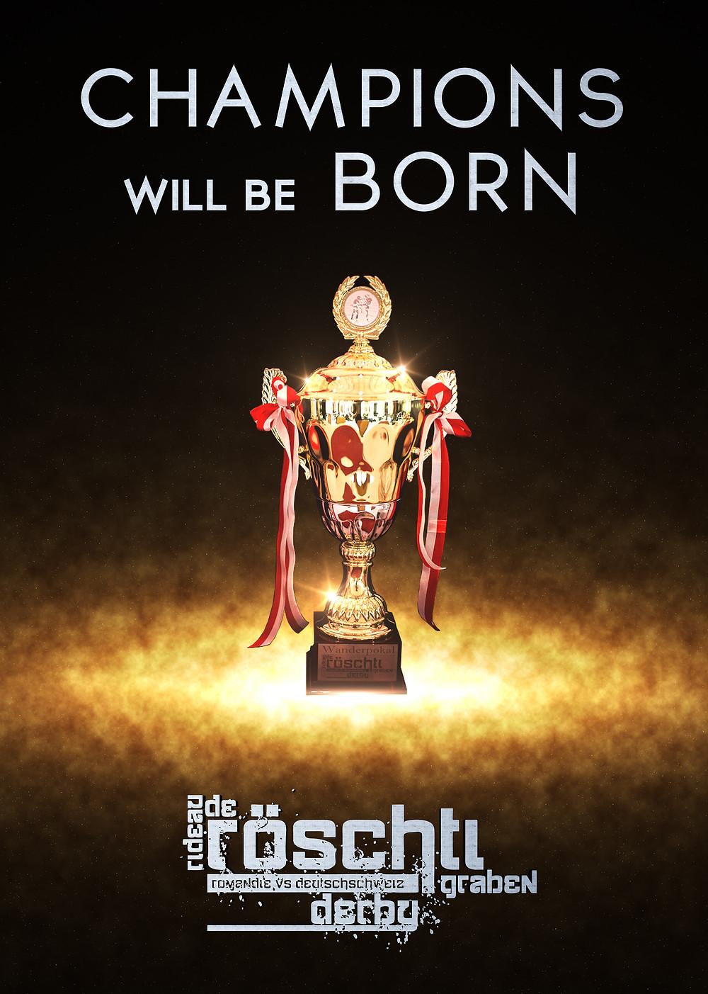 Poster - Röschtigrabe Derby 2013