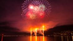"""22. Bielerseefest """"BIG BANG"""" Feuerwerk 2017"""
