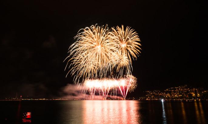 """21. Bielerseefest """"BIG BANG"""" Feuerwerk 2016"""
