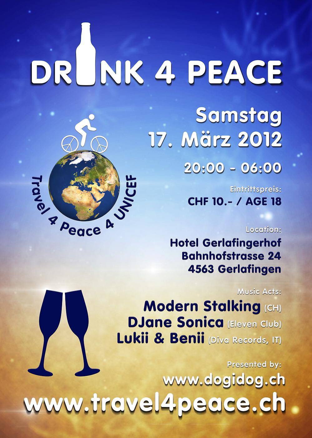 Flyer: Drink4Peace