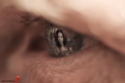 Augen in der Grossstadt: Menschen