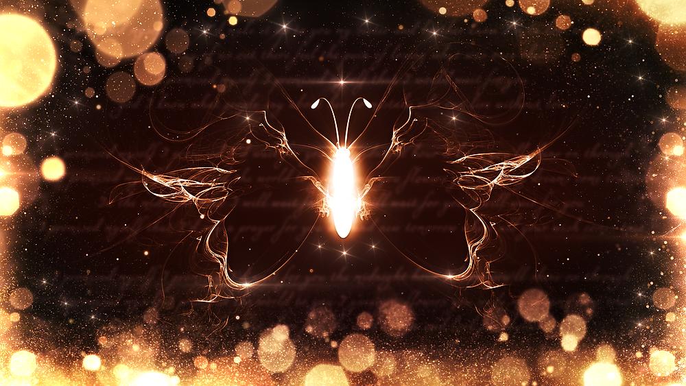 Shining Butterfly - Leuchtender Schmetterling