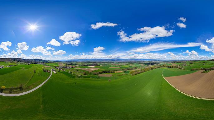 Exklusives Bonusmaterial: 360°-Panorama vom Frienisberg