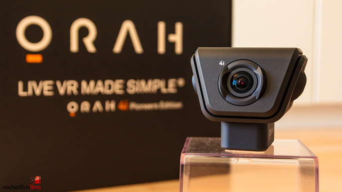 Orah 4i: 360°-Livestream (4K)