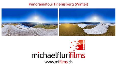 Panoramatour Frienisberg (Winter)