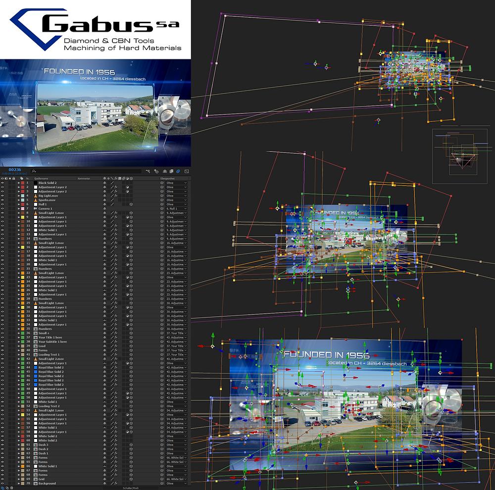 Gabus SA: Technischer Einblick ins Filmprojekt