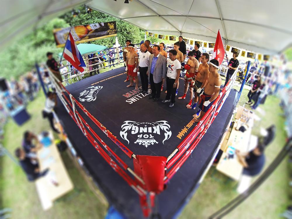Videoaufnahmen am 17. Thai Festival Bern