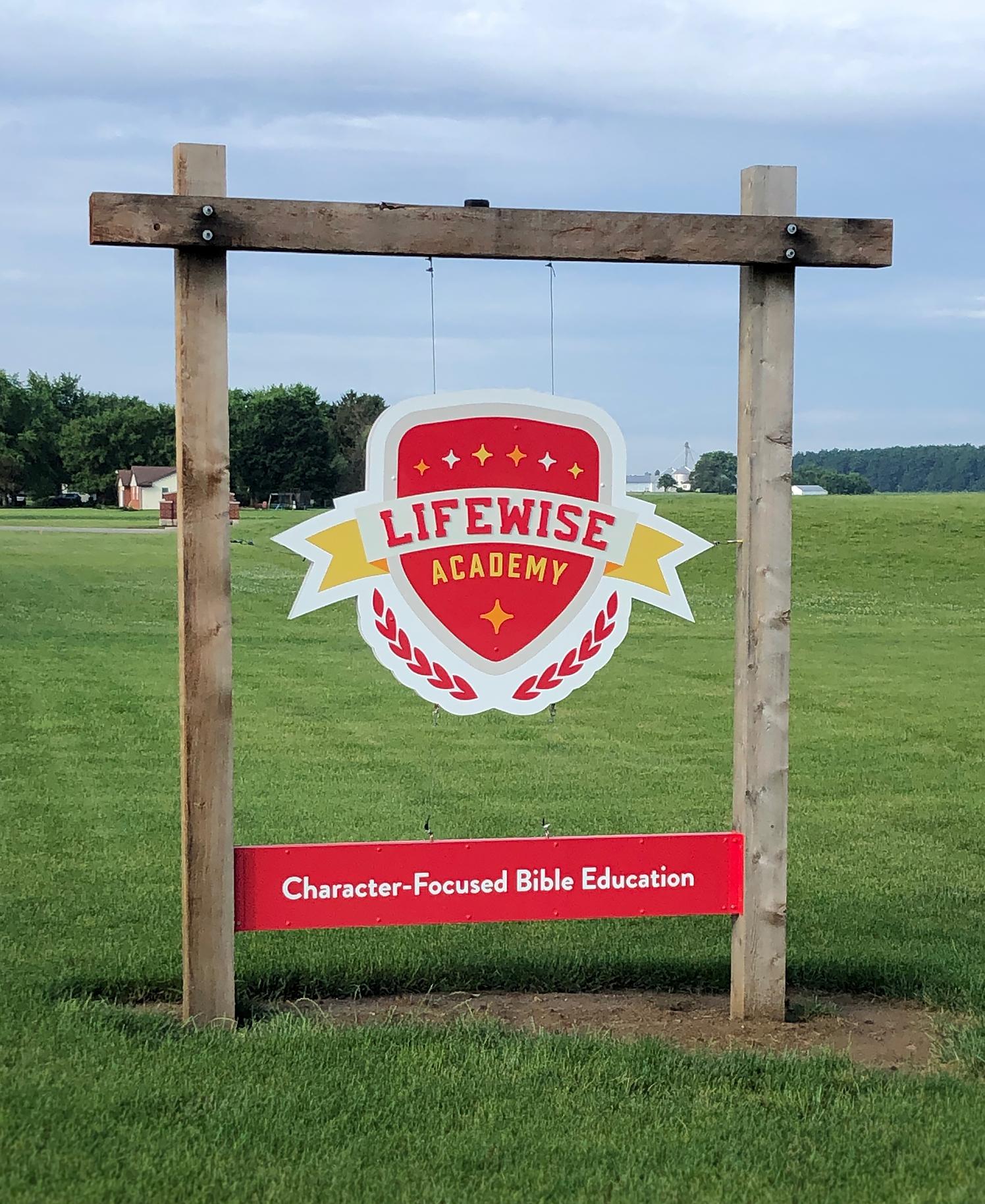 "Program Location Sign (5'x3'6"")"