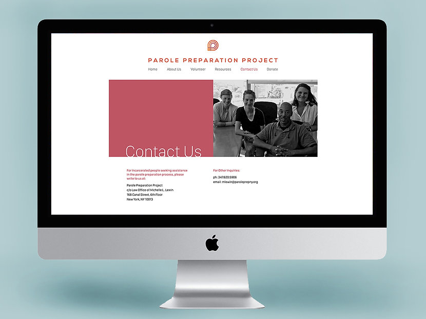 Parole Prep Website designed by Squareast Studio