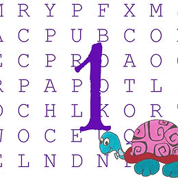 Word Search, Level 1