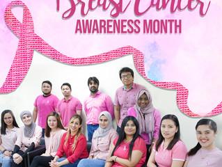 Modern Gardens' celebrating Breast Cancer Awareness Month