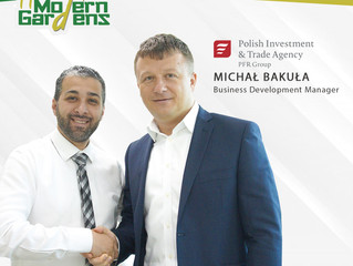 We are honored to welcome Mr. Michał Bakuła, Business Development Manager for the Polish Investment