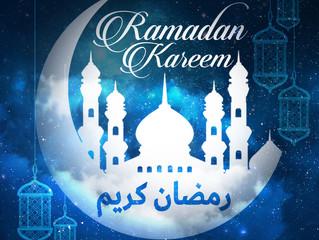Ramadan Mubarak! رمضان مبارك