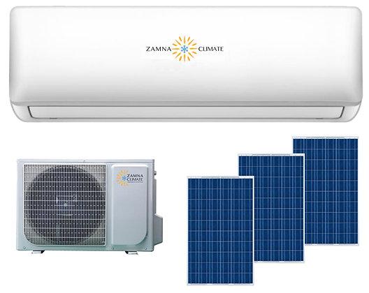 Zamna Climate Solar Ready 18,000btu Minisplit AC/Heater Package