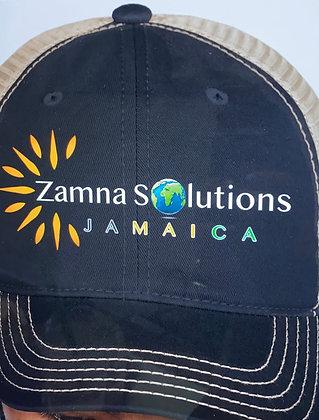 Zamna Jamaica Trucker Hat