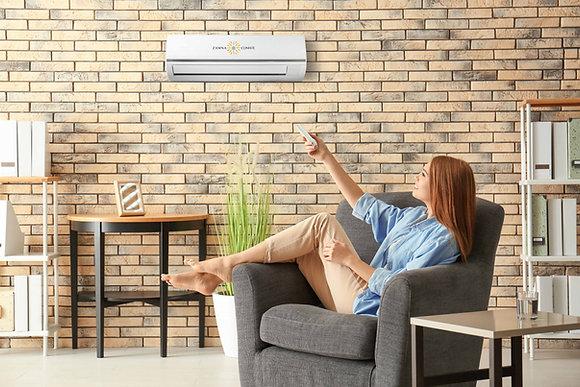 Zamna Climate Solar Ready 18,000btu Minisplit AC/Heater