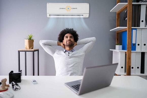 Zamna Climate Solar Ready 12,000btu Minisplit AC/Heater
