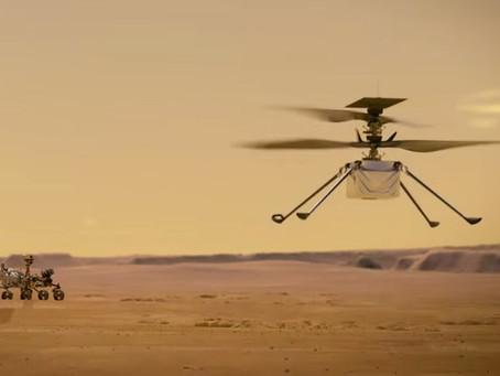 Ingenuity - O primeiro voo motorizado em Marte
