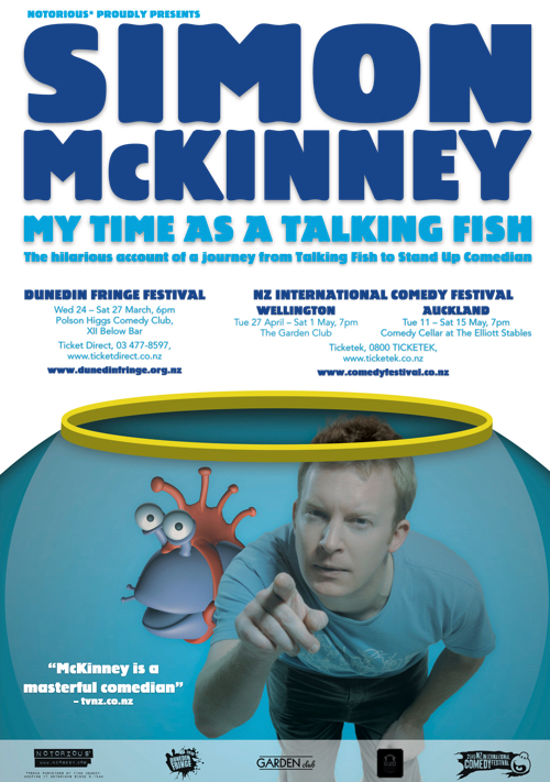 Simon McKinney My Time As  Talking Fish 2010