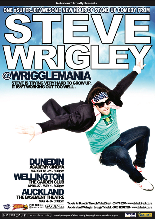 Steve Wrigley _wrigglemania 2010