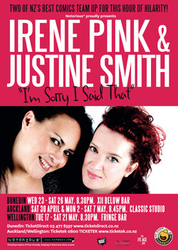 Irene Pin and Justine Smith I'm sorry I Said That 2011