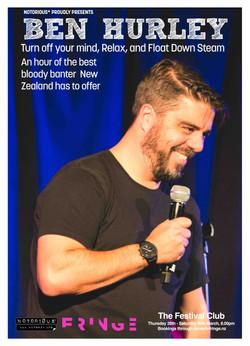 74 Ben Hurley Dunedin Fringe 2019