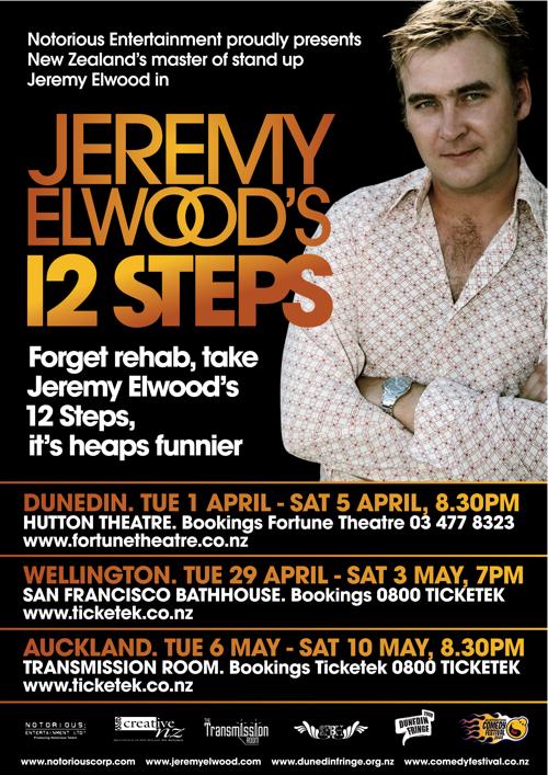 Jeremy Elwood's 12 Steps 2008