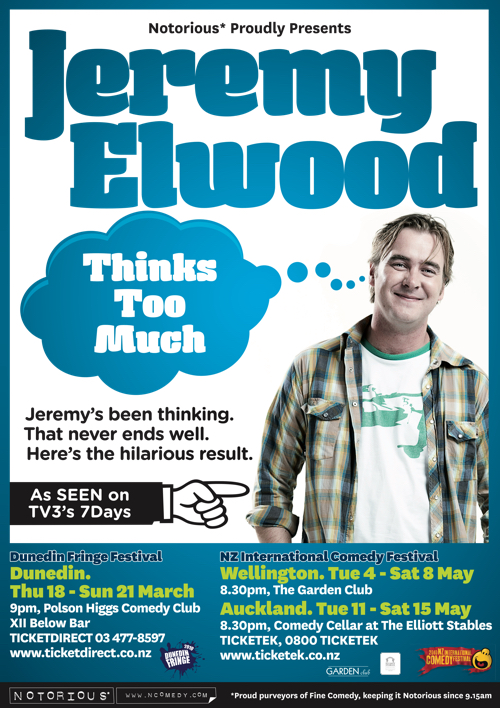 Jeremy Elwood Thinks Too Much 2010