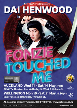 Dai Henwood Fonzie Touched me 2011