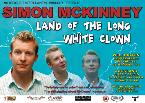 Simon McKinney Land Of The Long White Clown 2008